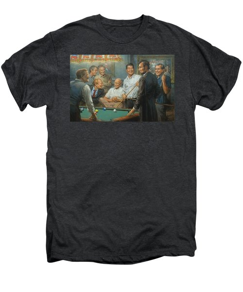 Callin The Blue Men's Premium T-Shirt by Andy Thomas