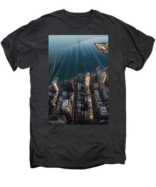 Chicago Shadows Men's Premium T-Shirt by Steve Gadomski