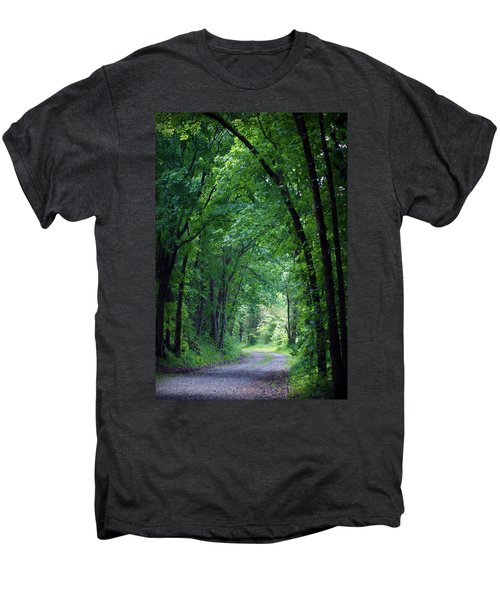 Country Lane Men's Premium T-Shirt by Cricket Hackmann