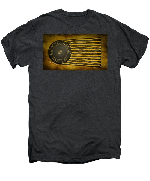 Edmond Halley Memorial Men's Premium T-Shirt by Stephen Stookey