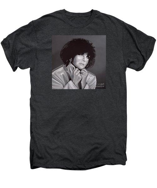 Elizabeth Taylor Men's Premium T-Shirt by Paul Meijering