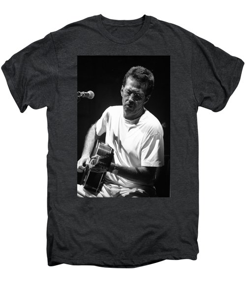 Eric Clapton 003 Men's Premium T-Shirt by Timothy Bischoff