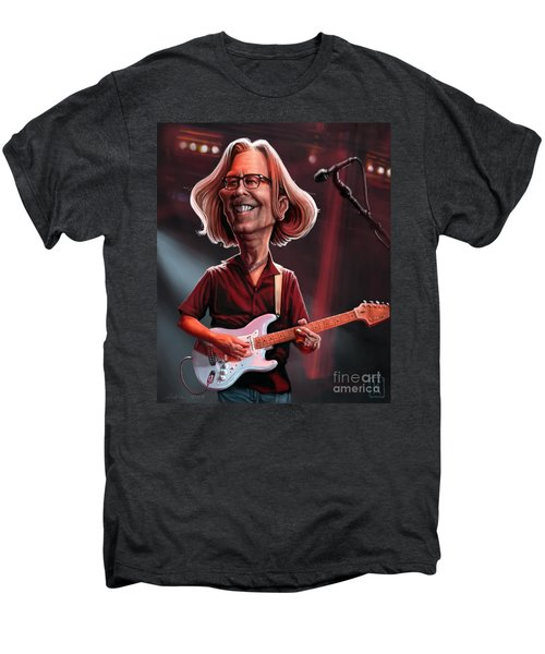 Eric Clapton Men's Premium T-Shirt by Andre Koekemoer