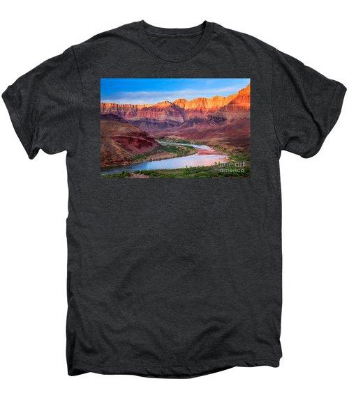 Evening At Cardenas Men's Premium T-Shirt by Inge Johnsson