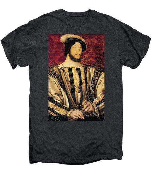 Francois I Men's Premium T-Shirt by Jean Clouet