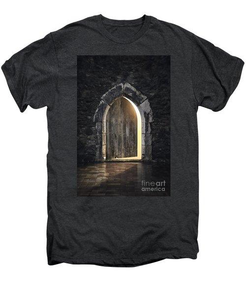 Gothic Light Men's Premium T-Shirt by Carlos Caetano