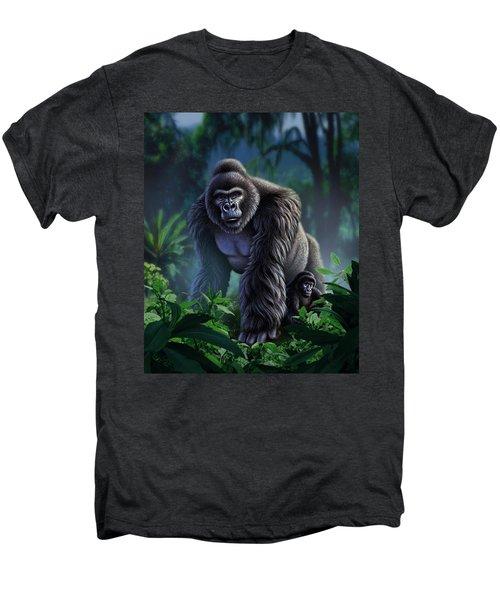 Guardian Men's Premium T-Shirt by Jerry LoFaro