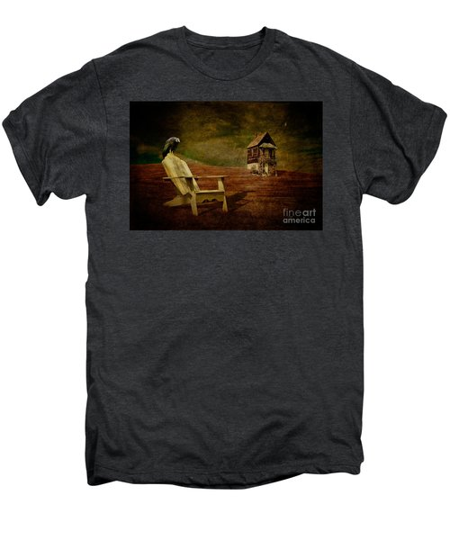 Hard Times Men's Premium T-Shirt by Lois Bryan