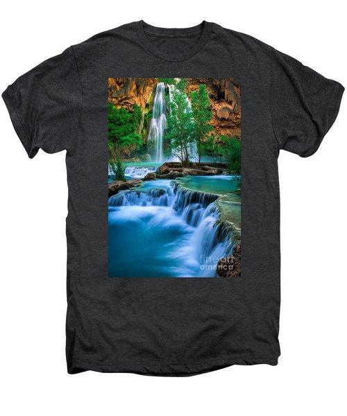 Havasu Paradise Men's Premium T-Shirt by Inge Johnsson