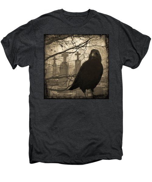 Her Graveyard Men's Premium T-Shirt by Gothicrow Images