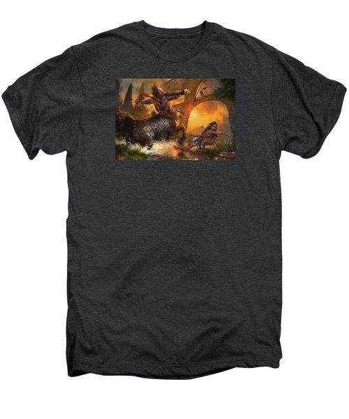 Hunt The Hunter Men's Premium T-Shirt by Ryan Barger