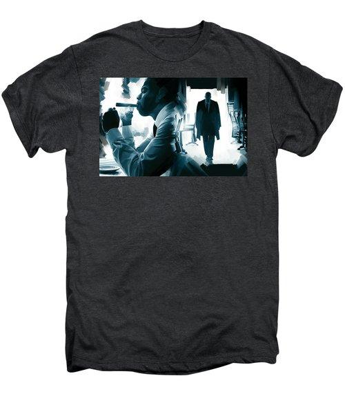 Jay-z Artwork 3 Men's Premium T-Shirt by Sheraz A