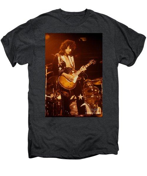 Jimmy Page 1975 Men's Premium T-Shirt by David Plastik