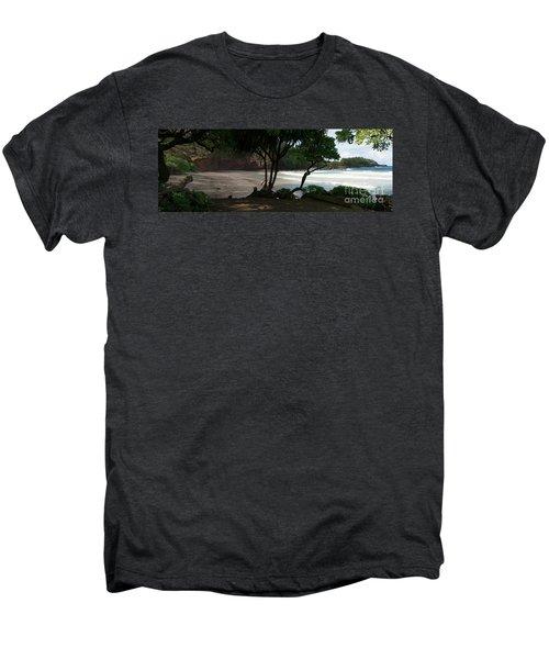 Koki Beach Hana Maui Hawaii Men's Premium T-Shirt by Sharon Mau