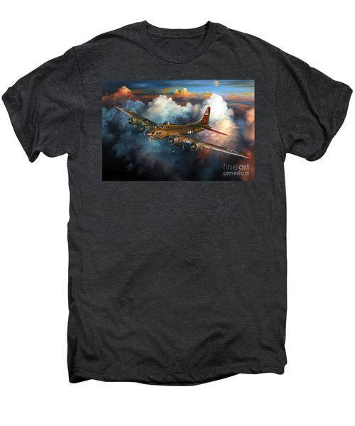 Last Flight For Nine-o-nine Men's Premium T-Shirt by Randy Green