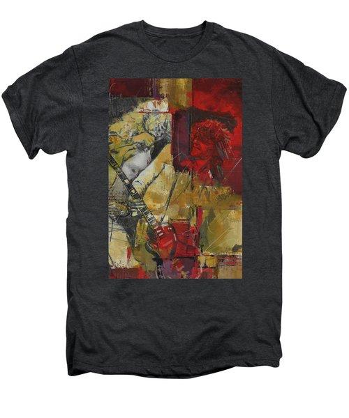Led Zeppelin Men's Premium T-Shirt by Corporate Art Task Force