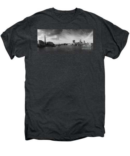 London City Panorama Men's Premium T-Shirt by Pixel Chimp