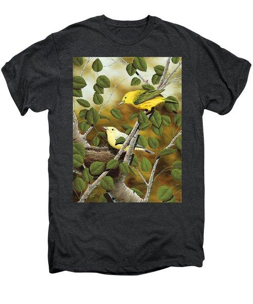 Love Nest Men's Premium T-Shirt by Rick Bainbridge