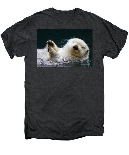Napping On The Water Men's Premium T-Shirt by Mike  Dawson