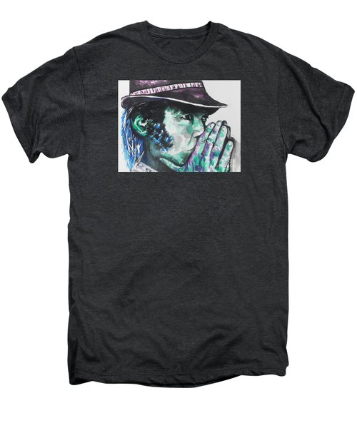 Neil Young Men's Premium T-Shirt by Chrisann Ellis