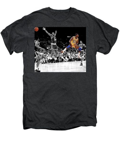 No Look Pass Men's Premium T-Shirt by Brian Reaves