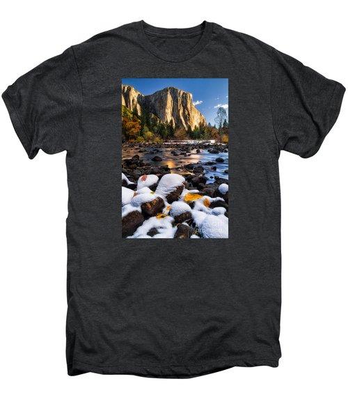November Morning Men's Premium T-Shirt by Anthony Bonafede