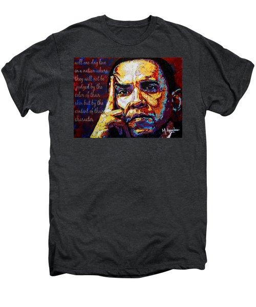 Obama Men's Premium T-Shirt by Maria Arango