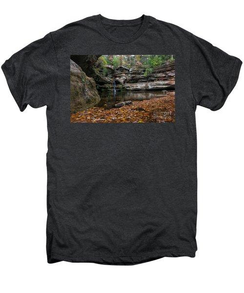 Old Mans Cave Men's Premium T-Shirt by James Dean