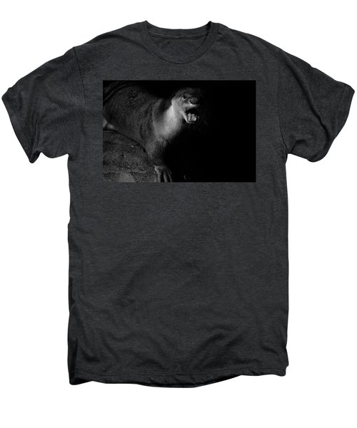 Otter Wars Men's Premium T-Shirt by Martin Newman