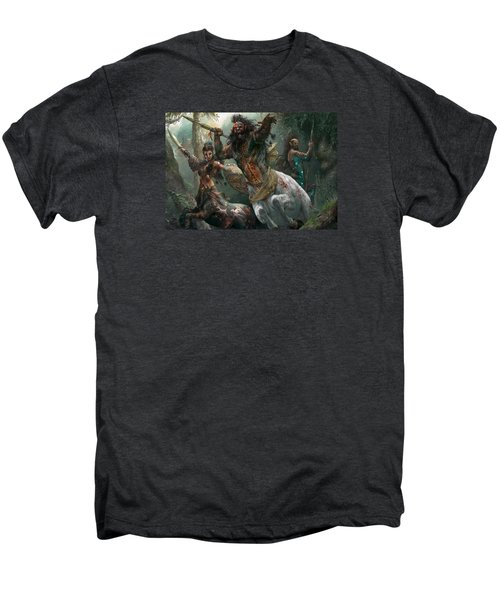Pheres-band Raiders Men's Premium T-Shirt by Ryan Barger