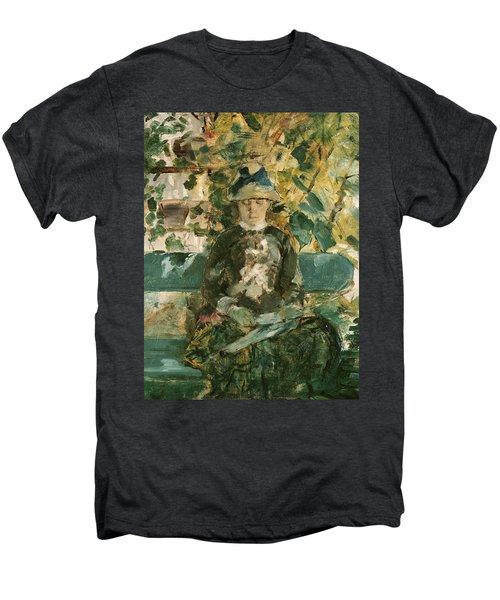 Portrait Of Adele Tapie De Celeyran Men's Premium T-Shirt by Henri de Toulouse-Lautrec