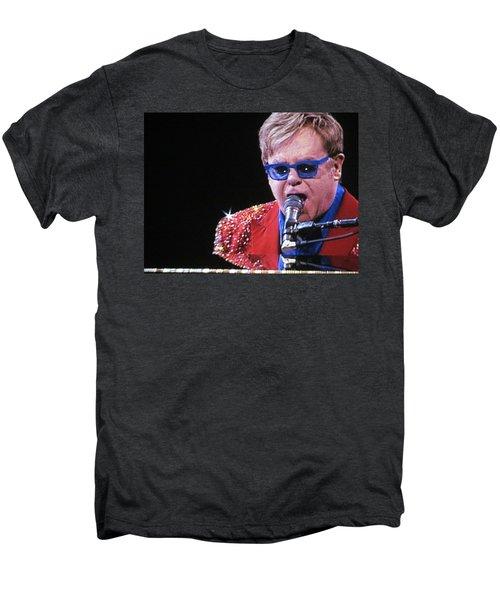 Rocket Man Men's Premium T-Shirt by Aaron Martens