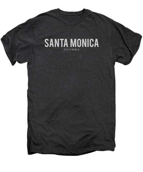 Santa Monica, California Men's Premium T-Shirt by Design Ideas