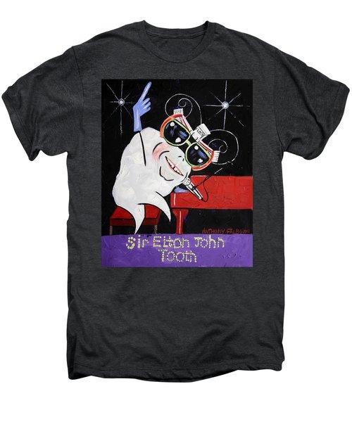 Sir Elton John Tooth  Men's Premium T-Shirt by Anthony Falbo
