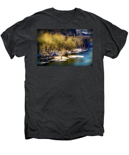 Snowy River Men's Premium T-Shirt by Karen Wiles