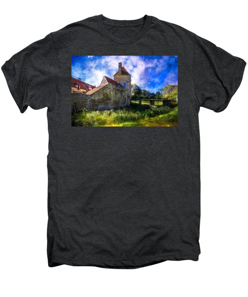 Spring Romance In The French Countryside Men's Premium T-Shirt by Debra and Dave Vanderlaan