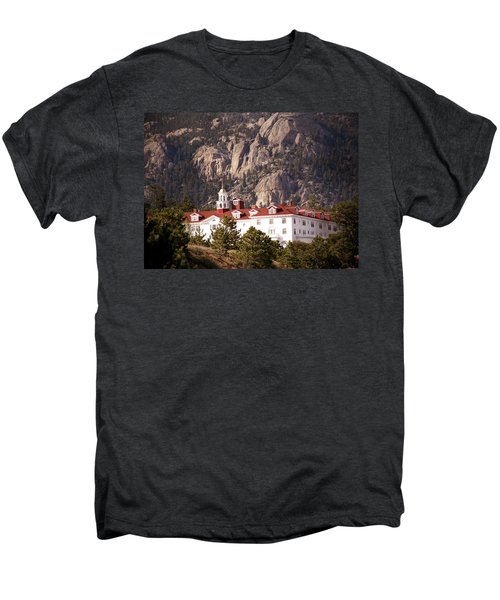 Stanley Hotel Estes Park Men's Premium T-Shirt by Marilyn Hunt