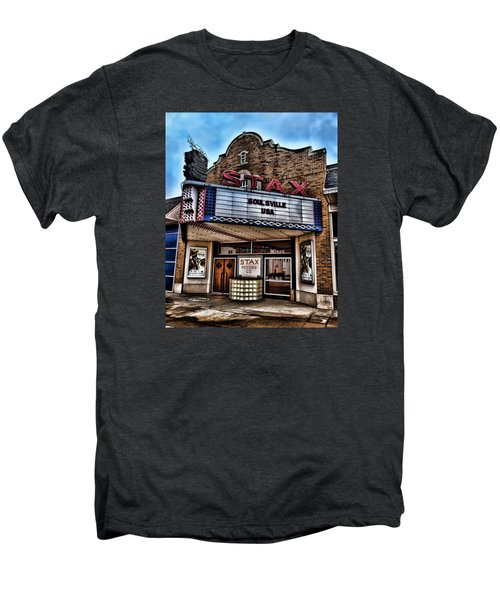 Stax Records Men's Premium T-Shirt by Stephen Stookey