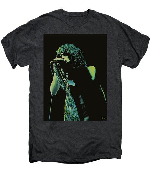 Steven Tyler 2 Men's Premium T-Shirt by Paul Meijering