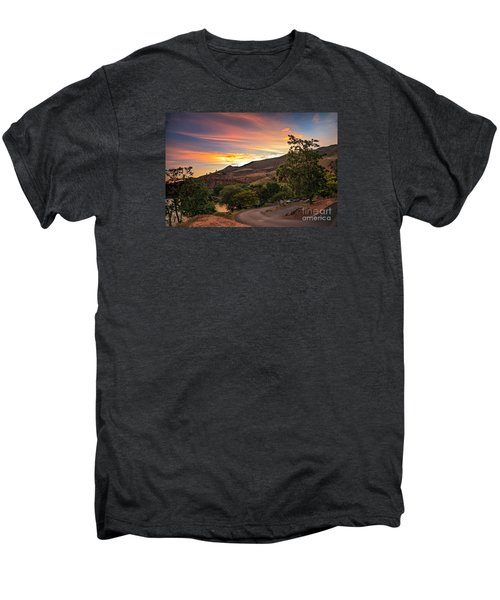 Sunrise At Woodhead Park Men's Premium T-Shirt by Robert Bales