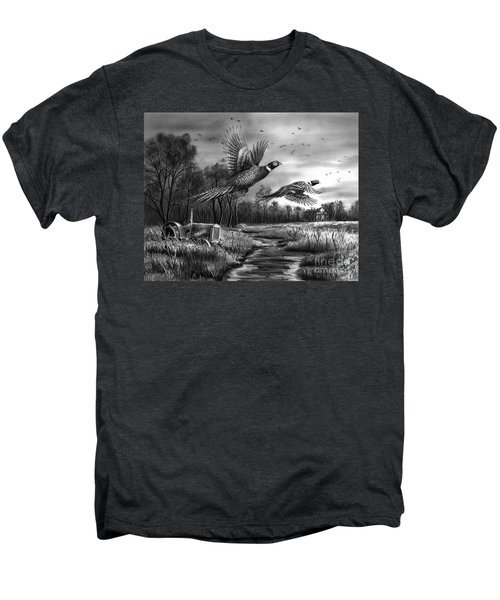 Taking Flight  Men's Premium T-Shirt by Peter Piatt