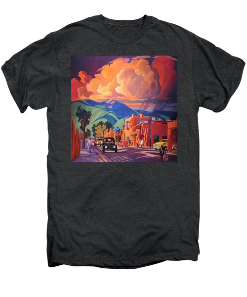 Taos Inn Monsoon Men's Premium T-Shirt by Art James West