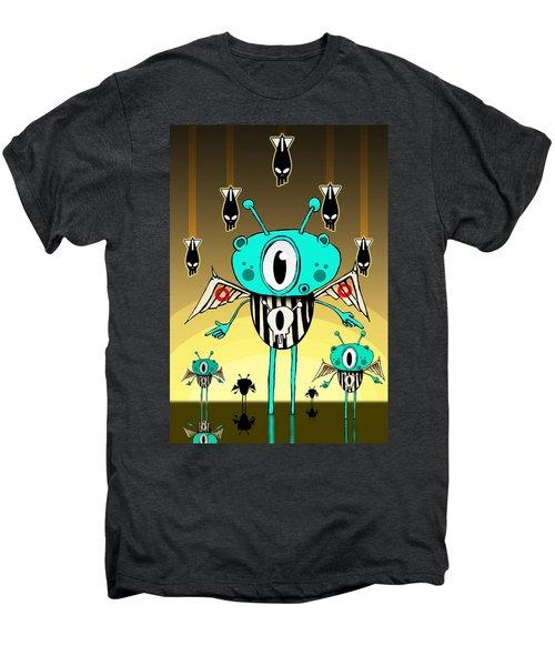 Team Alien Men's Premium T-Shirt by Johan Lilja