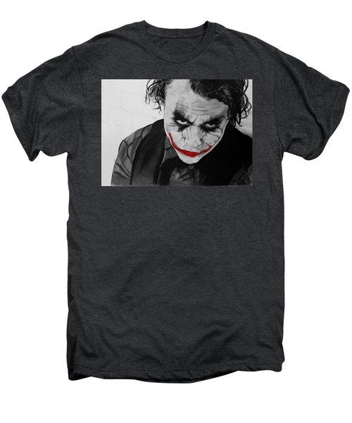 The Joker Men's Premium T-Shirt by Robert Bateman