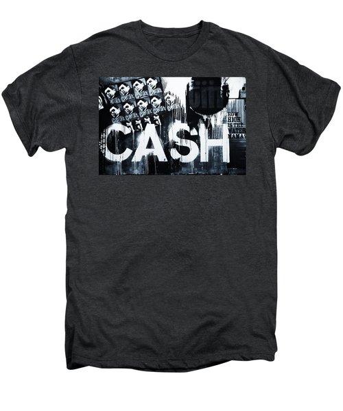 The Man In Black Men's Premium T-Shirt by Dan Sproul