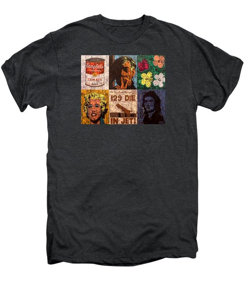 The Six Warhol's Men's Premium T-Shirt by Brent Andrew Doty