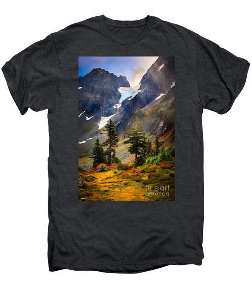 Top Of Cascade Pass Men's Premium T-Shirt by Inge Johnsson