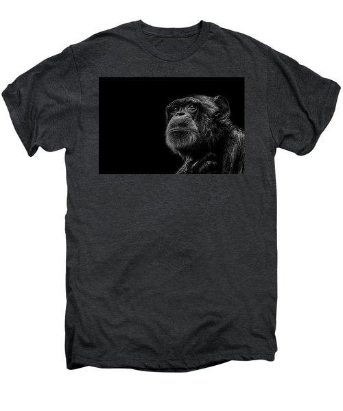 Trepidation Men's Premium T-Shirt by Paul Neville