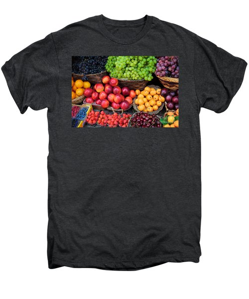 Tuscan Fruit Men's Premium T-Shirt by Inge Johnsson