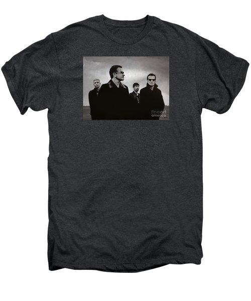 U2 Men's Premium T-Shirt by Paul Meijering